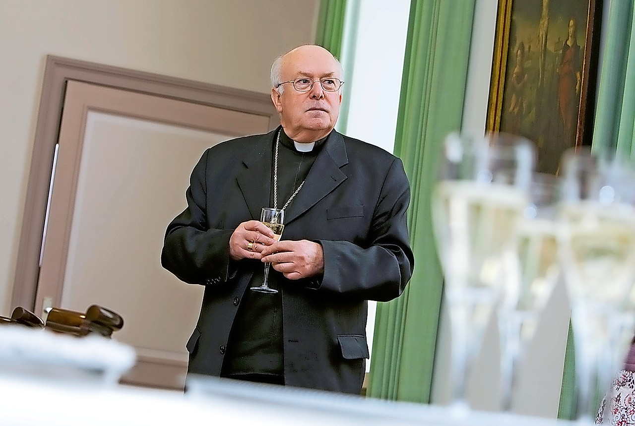 rdinaal Danneels op de viering van zijn vijfenzeventigste verjaardag.  © Hugo Maris